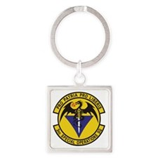 3rd_sos Square Keychain