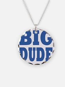 Big DUDE blue Necklace