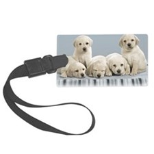 cute_puppies-normal Luggage Tag