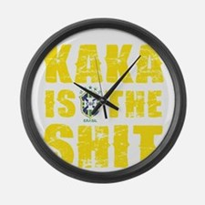 Kaka Is The Shit Large Wall Clock