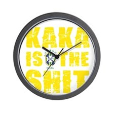 Kaka Is The Shit Wall Clock