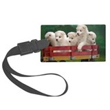 Samoyed Luggage Tags