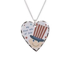 first4thbaby Necklace Heart Charm