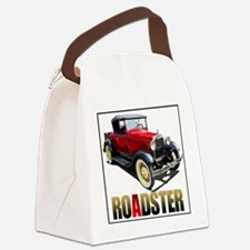 RedAroadster-4 Canvas Lunch Bag