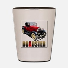 RedAroadster-4 Shot Glass