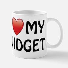 i-heart-widget-01 Small Small Mug