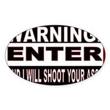 You will be shot.gif Decal