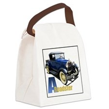 Aroadster-blue-4 Canvas Lunch Bag