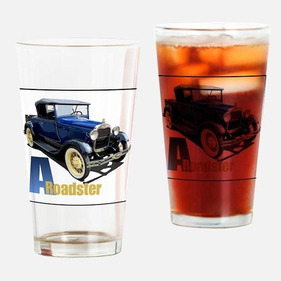 Aroadster-blue-4 Drinking Glass