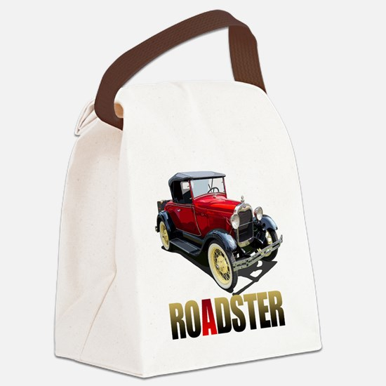 RedAroadster-10 Canvas Lunch Bag