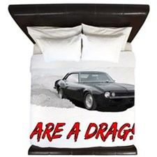 Weekends Are A drag! King Duvet