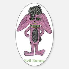 Evil Bunny Decal