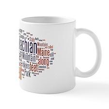 wordle appalachian trail 1 Mug