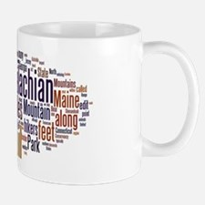 wordle appalachian trail 1 Mug