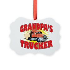 grandpas trucker Ornament