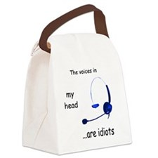 Voices Canvas Lunch Bag