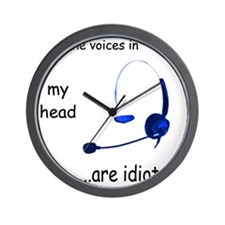 Voices Wall Clock