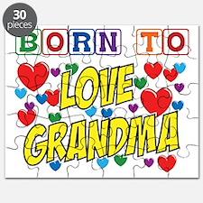 Born Love Grandma copy Puzzle