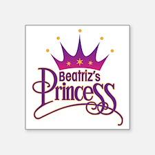 """BeatrizPrincessArt Square Sticker 3"""" x 3"""""""