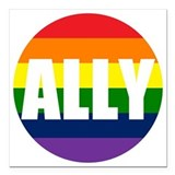 Ally Square Car Magnets