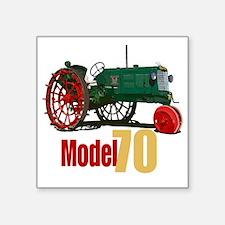 "OliverHartParr-10 Square Sticker 3"" x 3"""
