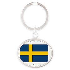 cpsweden Oval Keychain