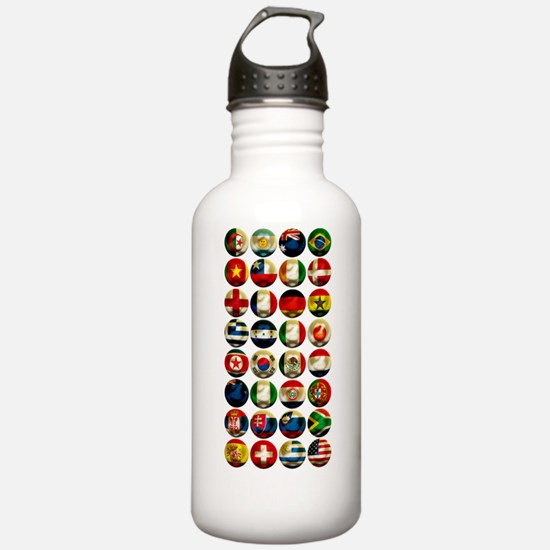 WorldCup2Bk Water Bottle