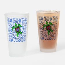 ILYhawaiiTurtleBbt Drinking Glass