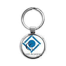 Aikido Academy Logo Round Keychain