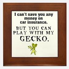 gecko Framed Tile