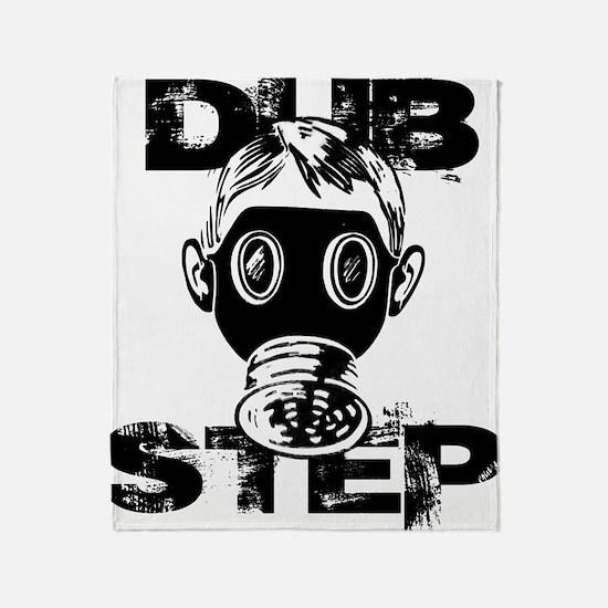 Dubstep Gas Mask Throw Blanket