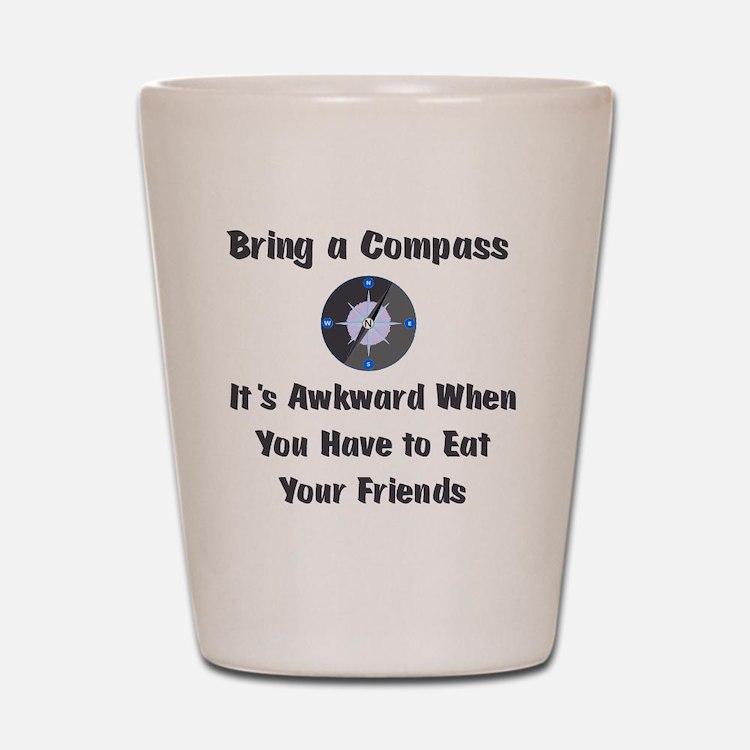 compass Shot Glass