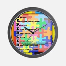 ASPERGERS 2010  2 Wall Clock