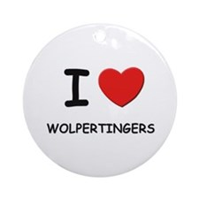 I love wolpertingers Ornament (Round)