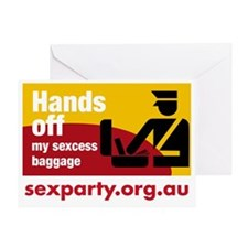 sexessbaggage Greeting Card