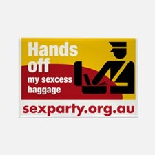 sexessbaggage Rectangle Magnet