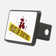 Bloodspatter police line Hitch Cover