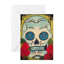 Calavera Greeting Card