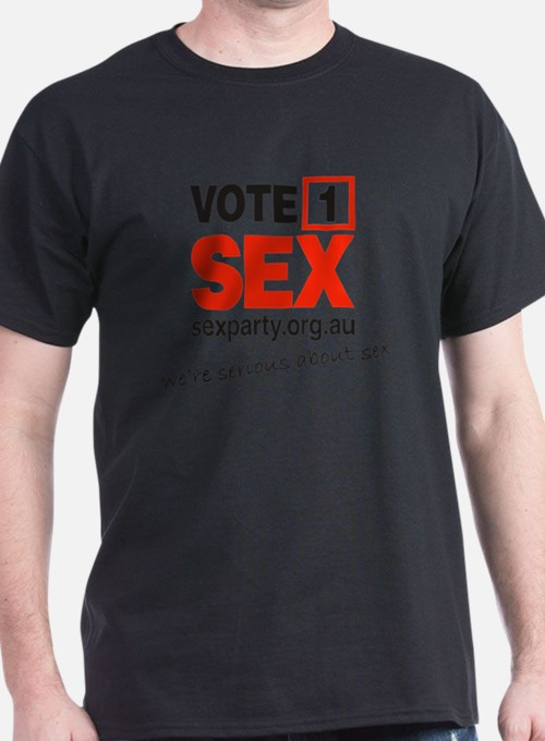 vote1_serious T-Shirt