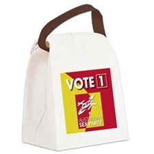 vote1 Canvas Lunch Bag