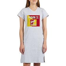 vote1 Women's Nightshirt