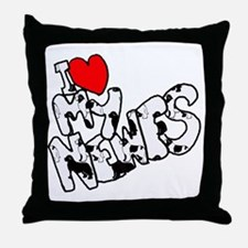 heart_my_newfs copy Throw Pillow