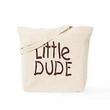Little dude browm Tote Bag