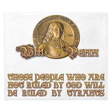 William Penn Medal King Duvet