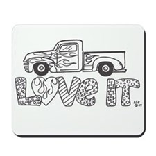 Love Truck Mousepad