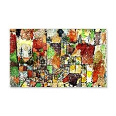 Paul Klee: Two Country Houses Wall Decal