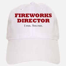 fireworks_director Baseball Baseball Cap