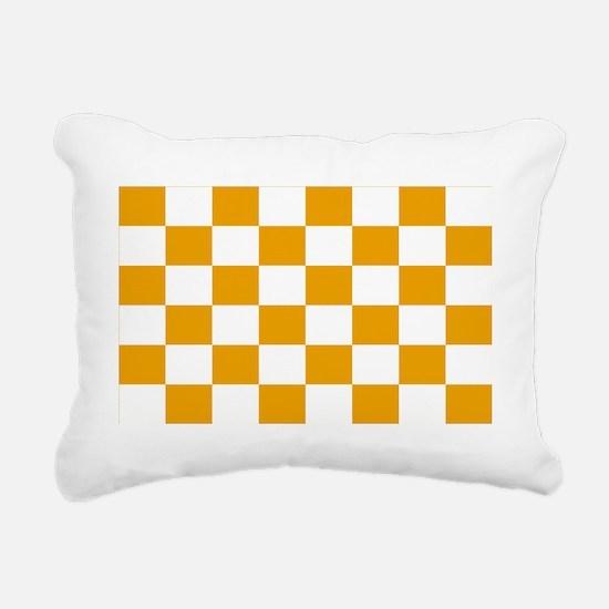 tennessee endzone 1 Rectangular Canvas Pillow