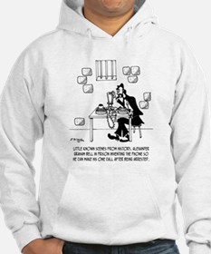 Alexander Graham Bell's Call From Prison Hoodie