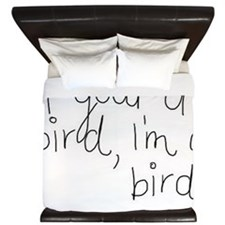 bird King Duvet